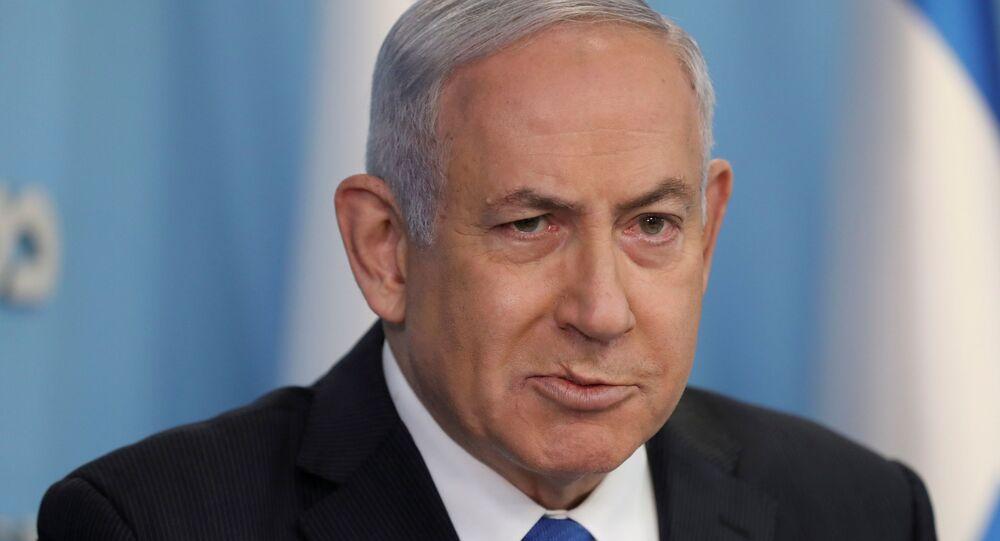 رئيس الوزراء الإسرائيلي بنيامين نتنياهو، إسراتئيل 2 أكتوبر 2020