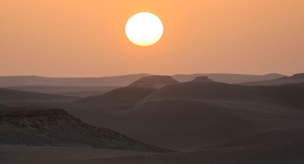 واحة سيوة، صحراء مصر الغربية 15 أكتوبر 2020