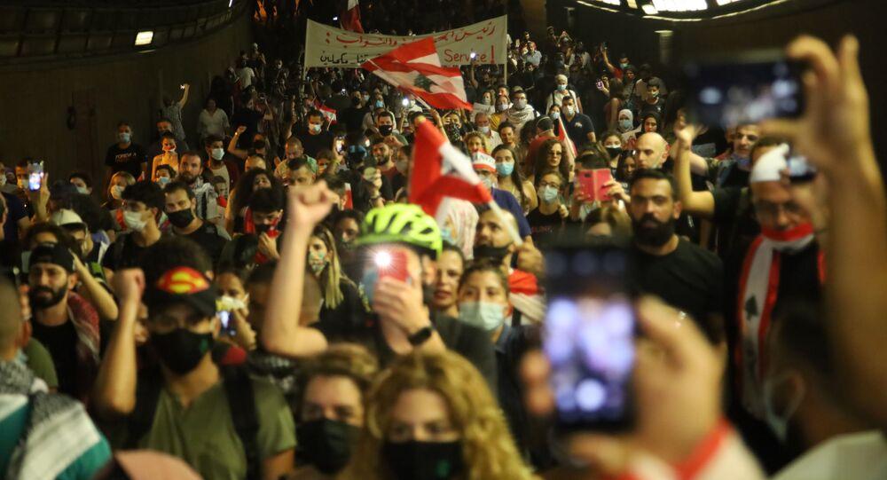 إحياء ذكرى 17 تشرين في  لبنان