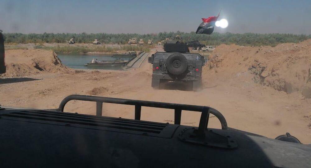 الجيش العراقي يسيطر على مأوى خطير لـداعش في قرية كنعوص، محافظة صلاح الدين، شمالي العراق 19 أكتوبر 2020