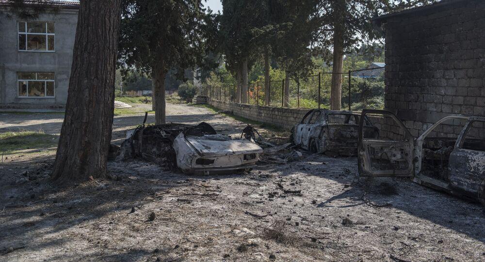 التصعيد العسكري في منطقة النزاع بين أرمينيا و أذربيجان، قره باغ، 19 أكتوبر 2020