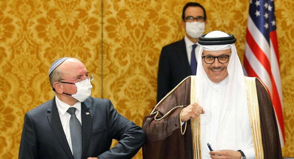 الوفد الإسرائيلي في المنامة، توقيع اتفاقية بين إسرائيل و البحرين، 18 أكتوبر 2020