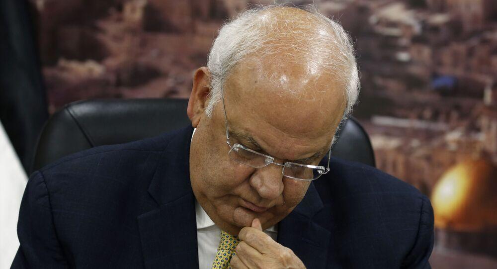 أمين سر اللجنة التنفيذية لمنظمة التحرير الفلسطينية، صائب عريقات