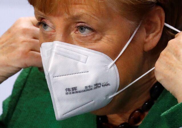 المستشارة الألمانية أنجيلا ميركل، ألمانيا، الاتحاد الأوروبي، 19 أكتوبر 2020