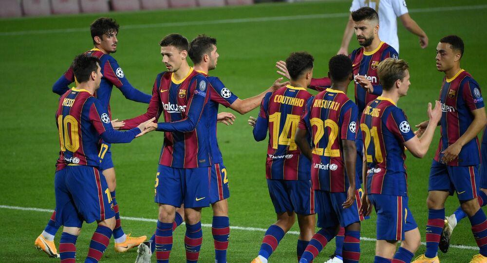 برشلونة في دوري الأبطال