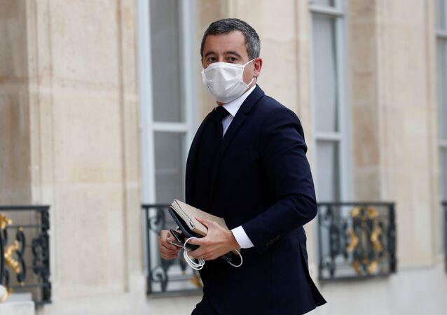 وزير الداخلية الفرنسي جيرارلد دارمانين
