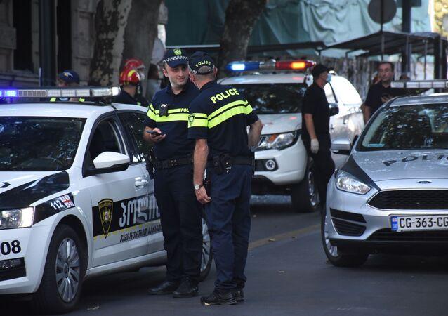 الشرطة الجورجية في تبليسي، جورجيا