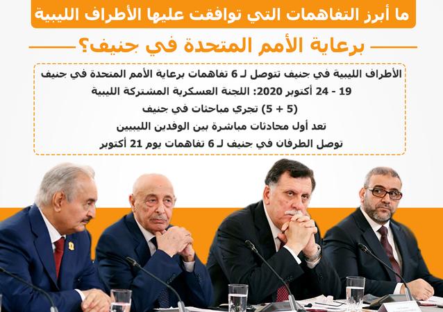 أبرز التفاهمات التي توافق عليها طرفا الصراع الليبي