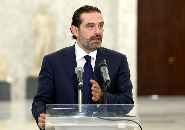 رئيس الحكومة اللبناني المكلف سعد الحريري، لبنان 12 أكتوبر 2020