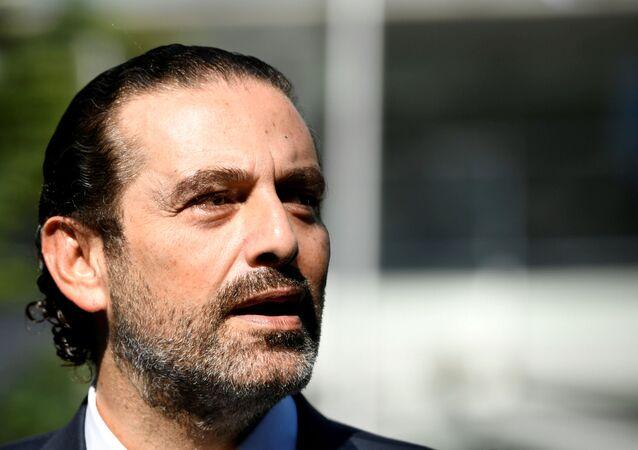 سعد الحريري، لبنان 18 أغسطس 2020