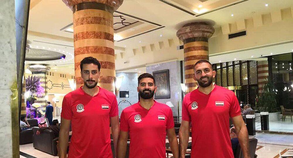 منتخب سوريا لكرة السلة