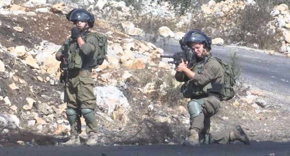 مسيرة كفر قدوم تتحدى المصادرة منذ عشر سنوات، شمال الضفة الغربية، 23 أكتوبر 2020