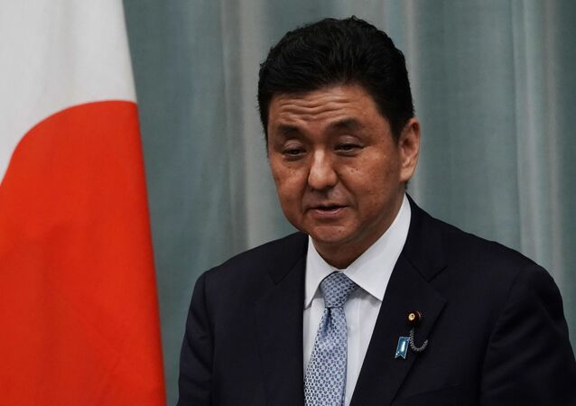 وزير الدفاع الياباني نوبو كيشي