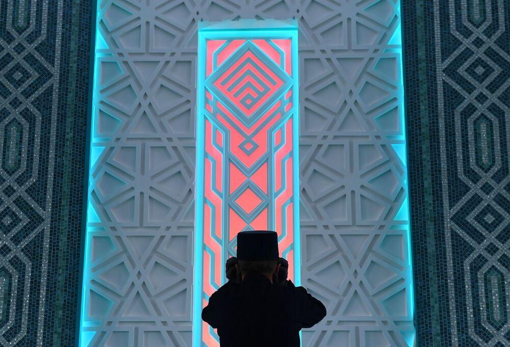 مسجد تشالي يار في مدينة نابرجنيي تشيلني، روسيا 24 أكتوبر 2020