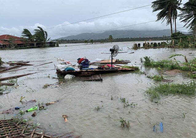 إعصار مولافي في الفلبين، 26 أكتوبر 2020