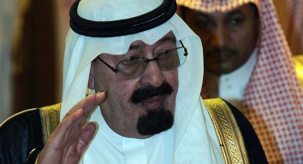 ملك السعودية السابق عبد الله بن عبد العزيز