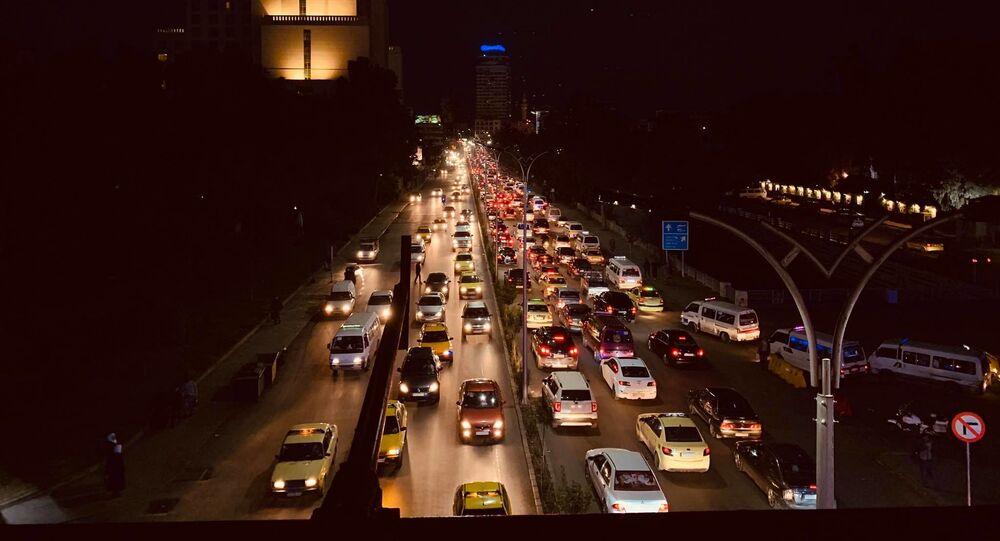 جسر السيد الرئيس في العاصمة السورية دمشق