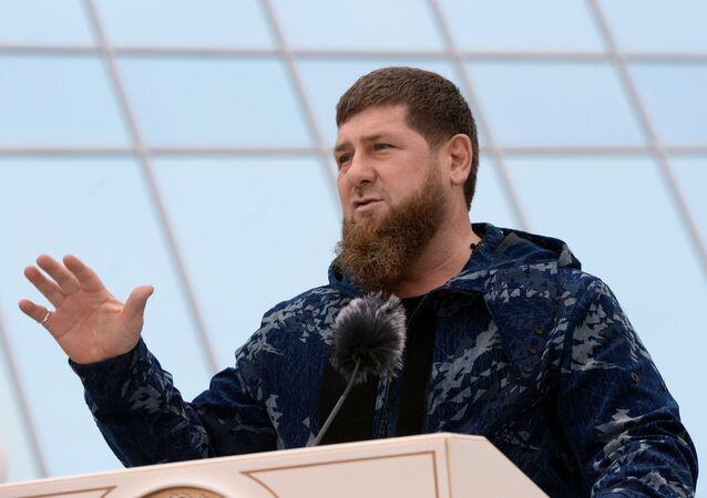 رئيس جمهورية الشيشان رمضان قاديروف، روسيا 27 أكتوبر 2020