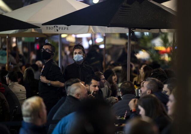 الحياة الليلية في ظل وباء كورونا، لندن، بريطانيا أكتوبر 2020