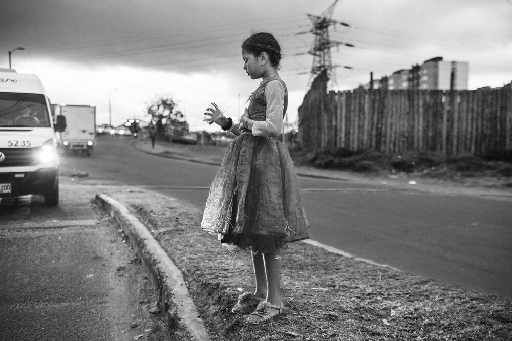 صورة بعنوان الهجرة، للمصور الكولومبي نيكولو فيليبو روسو، التي فازت في فئة مصور ذات بعد عميق لهذا العام للمصورين المحترفين في مسابقة جوائز التصوير الدولية 2020