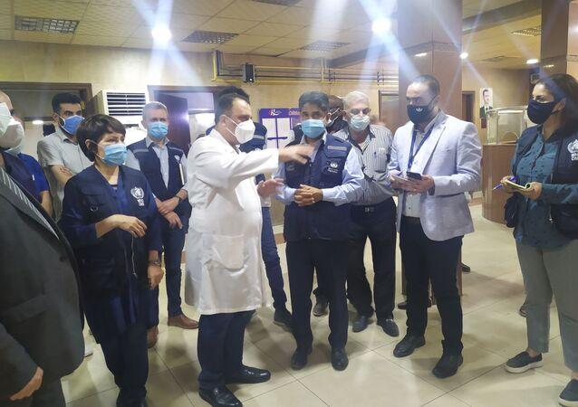 المدير الإقليمي لمنظمة الصحة العالمية في شرق المتوسط الدكتور أحمد المنظري