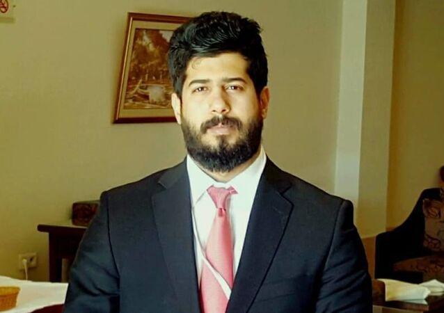 رضوان الحيمي الوزير المفوض في السلك الدبلوماسي اليمني لدى سوريا