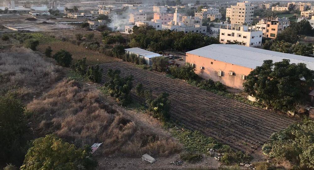 مصانع جيشوري في طولكرم، شمال الضفة الغربية