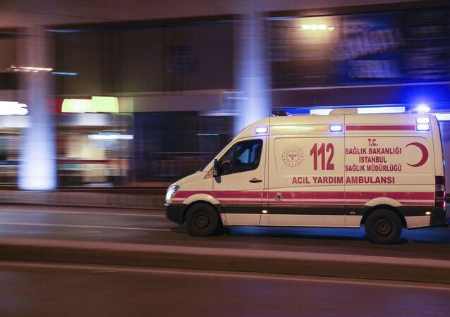 سيارة إسعاف تركيا