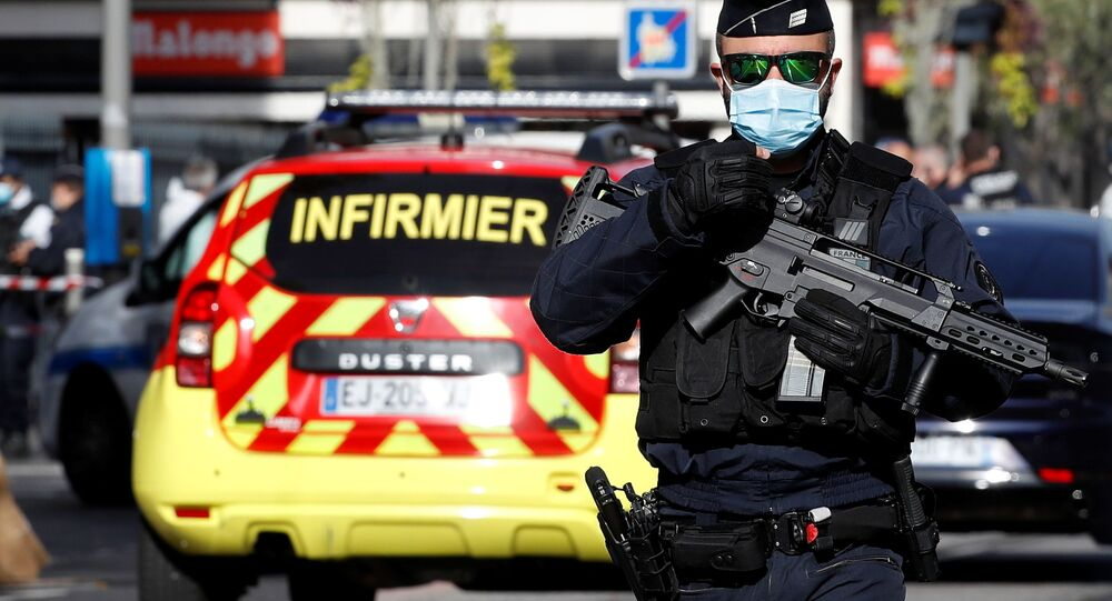 حادثة طعن في مدينة نيس، فرنسا 29 أكتوبر 2020