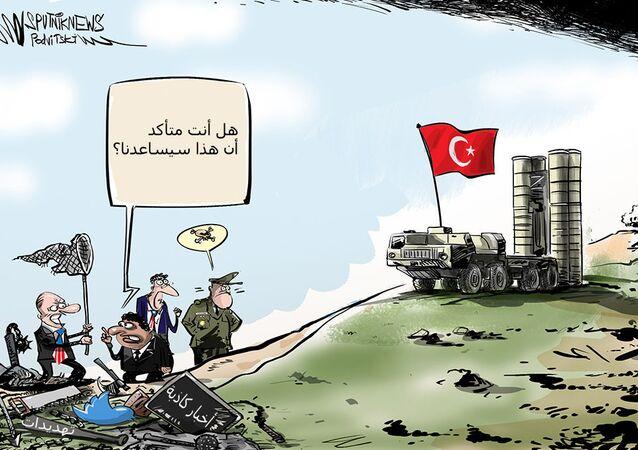 تركيا معرضة للعقوبات الأمريكية بسبب إس-400