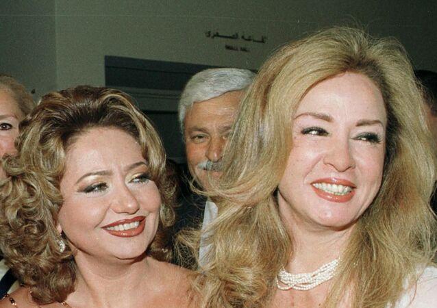 الفنانتان المصريتان نجلاء فتحي وليلى علوي