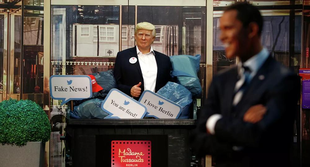 متحف الشمع في برلين يرمي مجسم ترامب في حاوية قمامة قبل الانتخابات