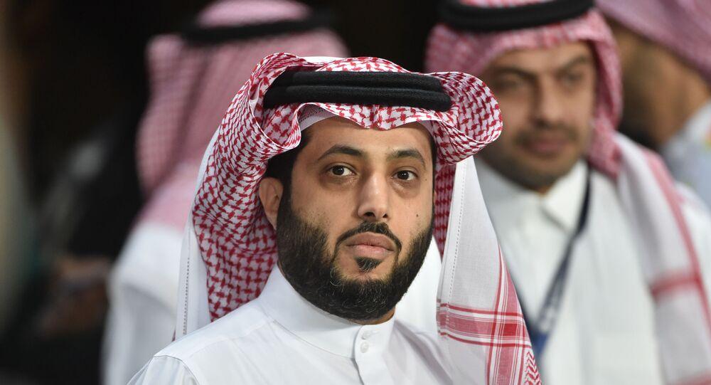 رئيس الهيئة العامة للترفيه في المملكة العربية السعودية المستشار تركي آل الشيخ