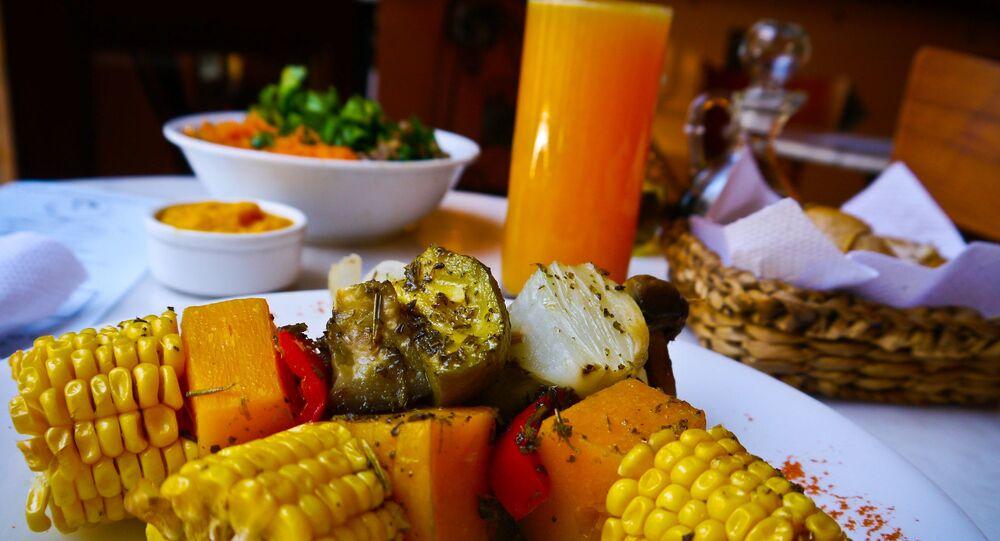 طعام نباتي