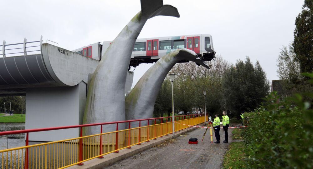 كيف أنقذ ذيل الحوت قطاراً من الحطام، هولندا  2 نوفمبر 2020