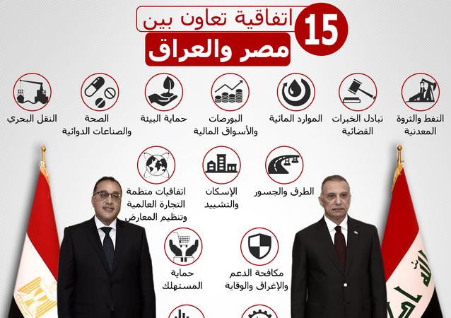 اتفاقية تعاون بين مصر والعراق