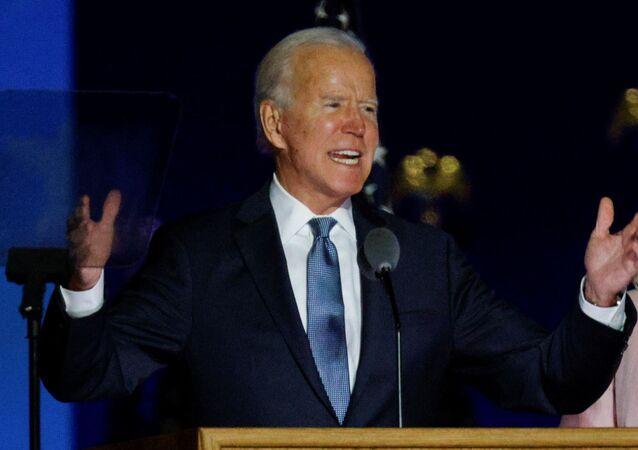 المرشح الديمقراطي في انتخابات الرئاسة الأمريكية جو بايدن