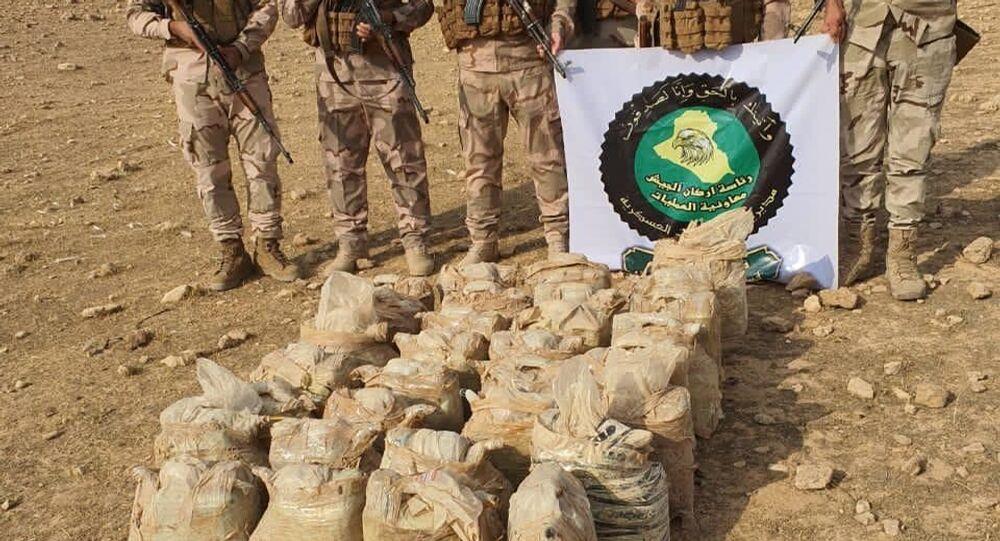 القوات العراقية تدمر متفجرات لـداعش غربي البلاد