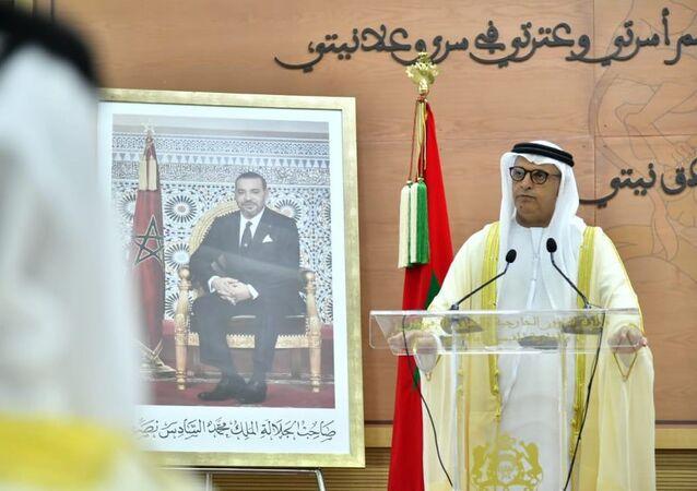 سفير الإمارات بالمملكة المغربية العصري سعيد أحمد الظاهري