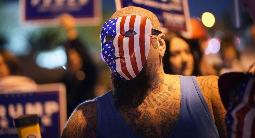 اندلاع الاحتجاجات بعد التصويت في الانتخابات الرئاسية الأمريكية 2020، 5 نوفمبر 2020