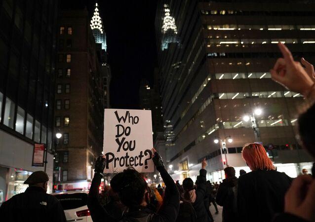 اندلاع الاحتجاجات بعد التصويت في الانتخابات الرئاسية الأمريكية 2020، 4 نوفمبر 2020