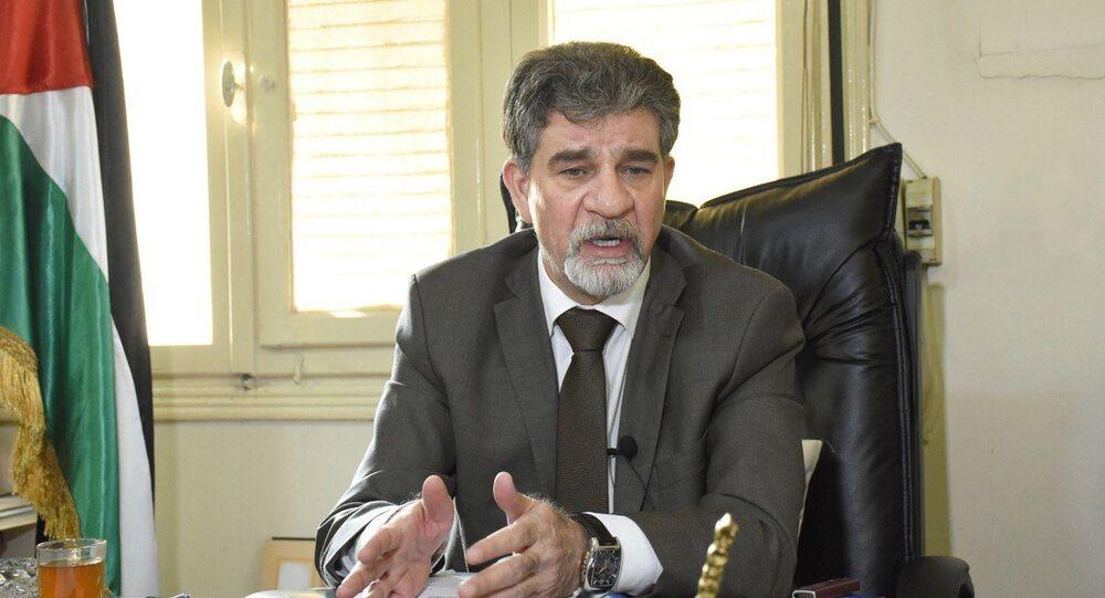 مدير عام الدائرة السياسية لمنظمة التحرير الفلسطينية السفير أنور عبد الهادي