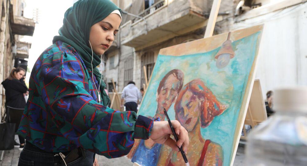 فن على الطريق... رسامو الشوارع يعودون إلى دمشق