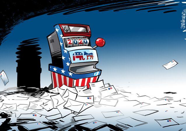 الانتخابات الأمريكية عن طريق البريد