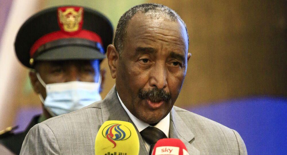 رئيس المجلس السيدي السوداني الفريق أول ركن عبد الفتاح البرهان