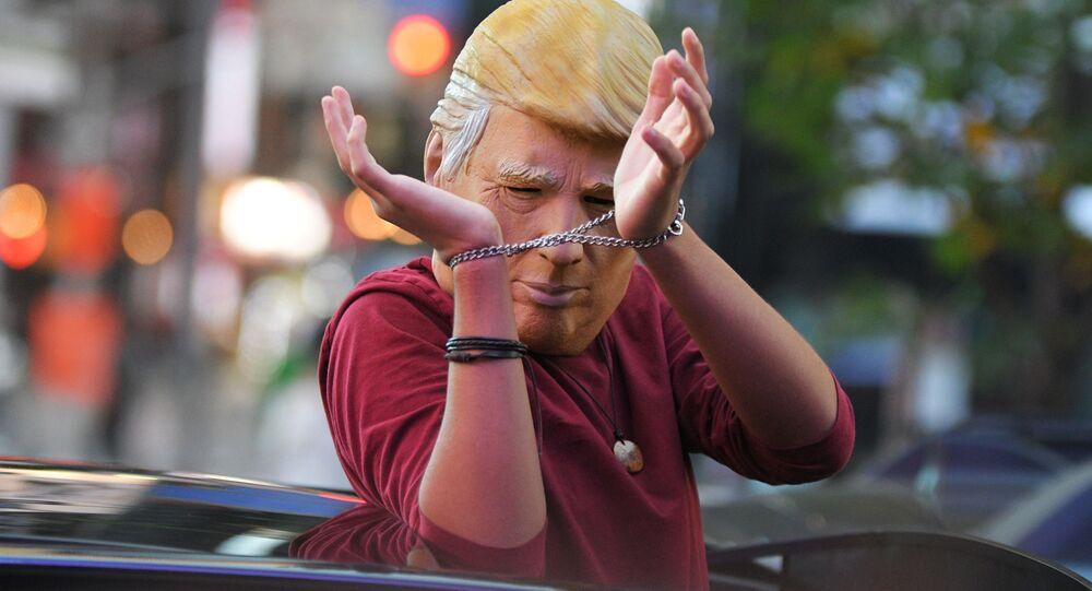 مظاهرات تعم شوارع الولايات المتحدة بعد صدور نتائج التصويت في الانتخابات الرئاسية الأمريكية 2020