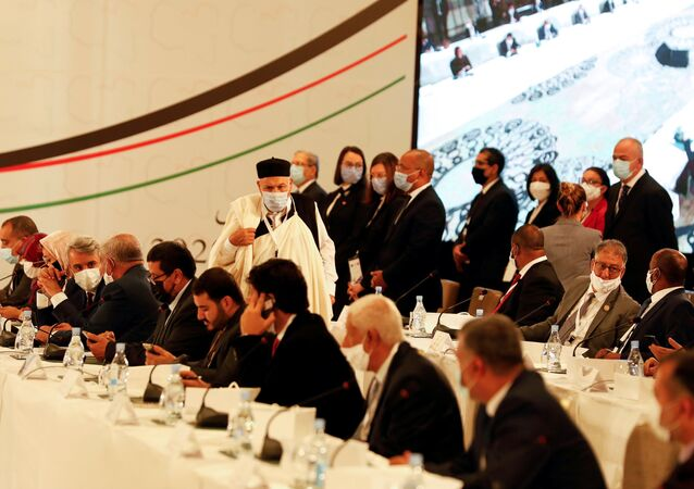 انطلاق جلسات الحوار الليبي في تونس، تونس 9 نوفمبر 2020