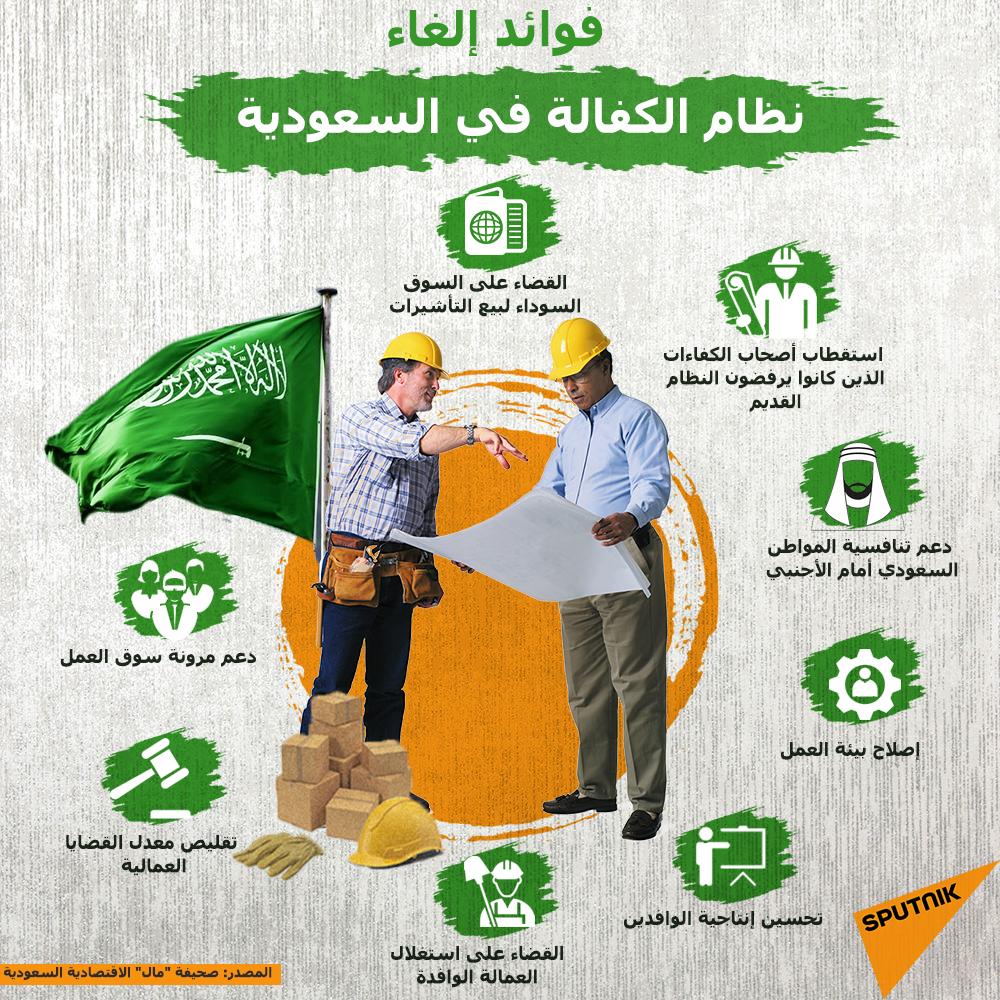فوائد إلغاء نظام الكفالة في السعودية