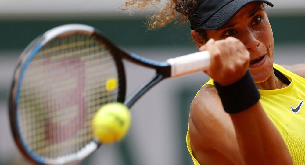 بطلة التنس المصرية، ميار الشريف