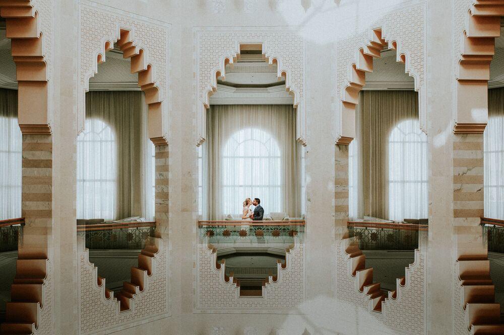 تصوير المصور الكرواتي مدحت مولابديتش، الفائز في فئة التصوير نجمة (النينجا) الصاعدة من المسابقة الدولية مصور الزفاف لعام 2020